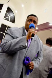 Pastor Anderson Singing