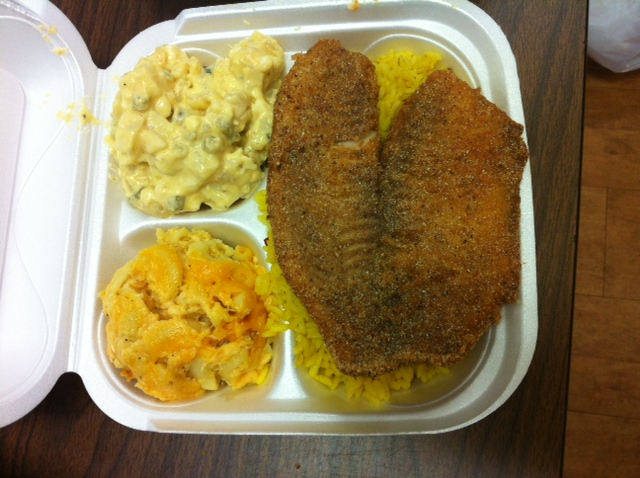Soul food cafe for What sides go with fish
