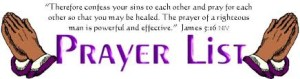 Prayer list1