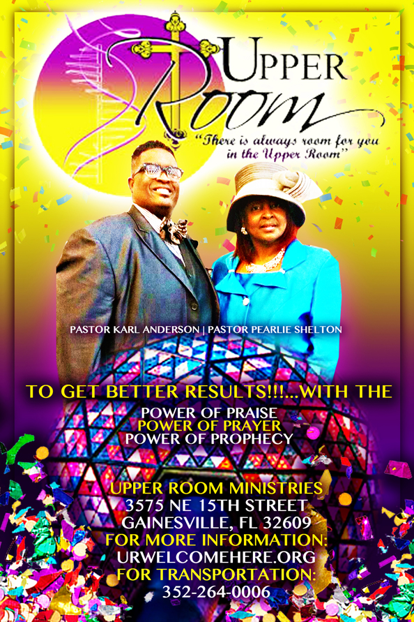 Welcome to the Upper Room Ministries C O G I C — The Upper Room